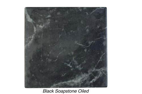 Black Soapstone Oiled