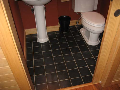 Pennsylvania Slate Bathroom Floor