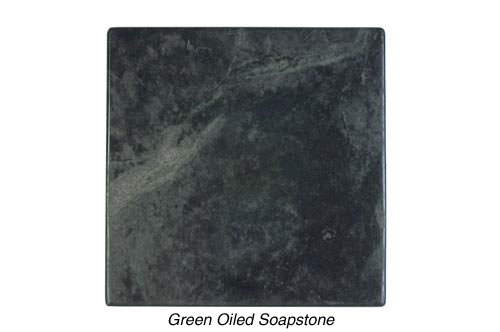 Green Soapstone Oiled