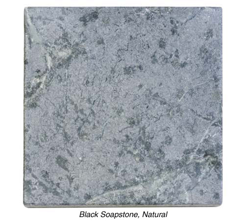 Black Soapstone, Natural