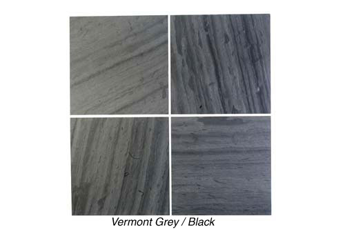 Semi-weathering Vermont Grey/black