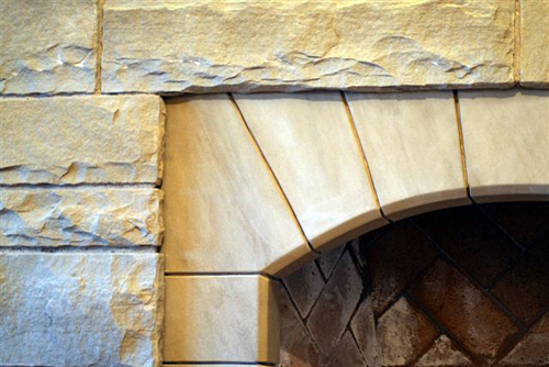 Sandstone Fire Place